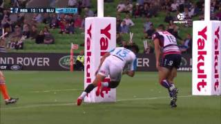Rebels v Blues Rd.1 2017 Super Rugby Video Highlights