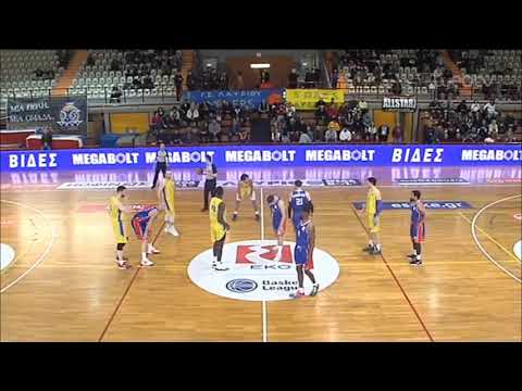 Basket League 2019-2020: ΛΑΥΡΙΟ – ΠΑΝΙΩΝΙΟΣ   07/03/2020   ΕΡΤ