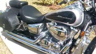 7. 2008 Honda Shadow Aero 750cc with Cobra Streetrod Slashdown Exhausts