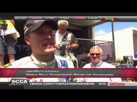 Jari Mati Latvala Interviewed on The Racing Insiders