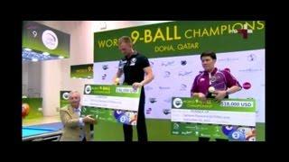 World 9-Ball Championship 2013 FINAL (Last Two Rack) Thorsten Hohmann (GER) Antonio Gabica (PHL)