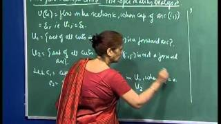 Mod-01 Lec-35 Max-flow - Critical Capacity Of An Arc, Starting Solution For Min-cost Flow Problem.