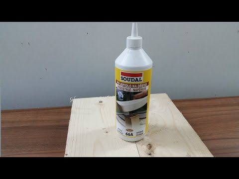 Testing Polyurethane Waterproof Glue  Soudal 66a -review And How To Use