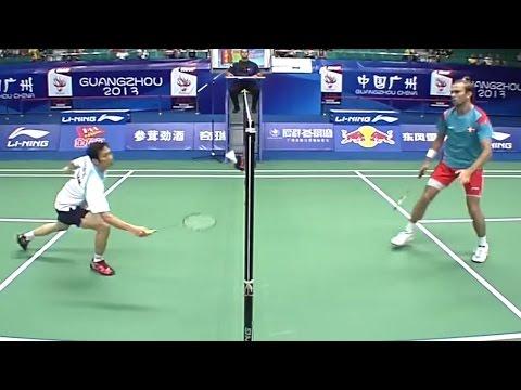 Nguyễn Tiến Minh thắng trận tứ kết giải vô địch cầu lông thế giới