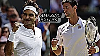 The most amazing Longuest rallies won by Roger Federer against Novak Djokovic. Thanks for watch the video and if you like to give me like and subscribe . All...