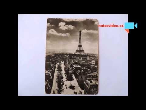 Historická pohlednice od naších hokejistů