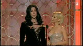 Cher&Christina Aguilera Bei Den Golden Globe Awards