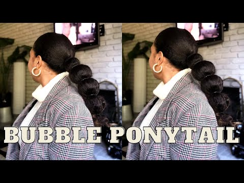 how to bubble ponytail, chit chat, vote