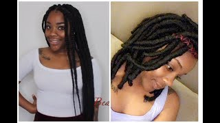 Video How To: Transform Long Box Braids To Faux Locs Bob| Janet Collection Crochet Hair MP3, 3GP, MP4, WEBM, AVI, FLV Agustus 2018