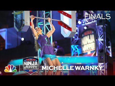 Michelle Warnky at the Philadelphia City Finals - American Ninja Warrior 2018