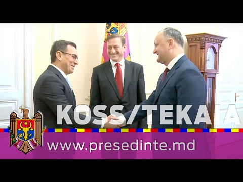 Moldovan president meets Foreign Investors Association representatives