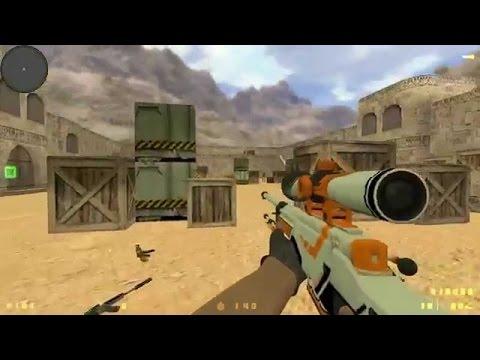 How To Change Skins Of Cs 1.6 Gun's