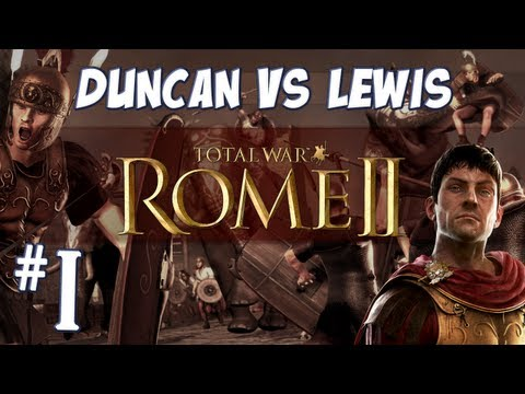 duncan - Duncan and Lewis war it out in the new Total War: ROME II game! ♥ T-shirts and Jumpers: http://yogscastlalna.spreadshirt.com/ ♥ Join us and get partnered on ...