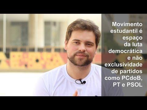 Pedro Vormittag: estudantes sem o controle do PCdoB, PT e PSOL