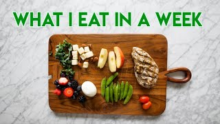 What I Eat In A Week To ALWAYS Stay Healthy by Monica Church