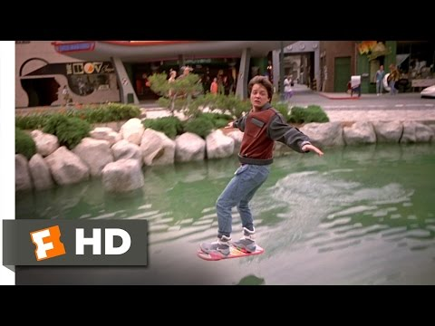 BOARD - Back to the Future Part 2 Movie Clip - watch all clips http://j.mp/zWrk0s click to subscribe http://j.mp/sNDUs5 Marty (Michael J. Fox) borrows a hover board ...
