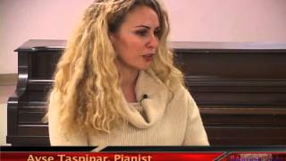 Armenian-Turkish concert, followed by interview with Turkish pianist Ayse Taspinar