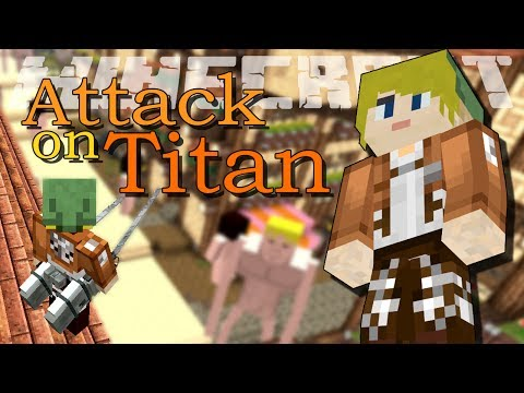 Minecraft Mod: ATTACK ON TITAN!