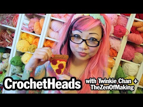 Basics - This week, we take a tour of Twinkie Chan's crochet haven and get some beginner crochet tips from Haley of The Zen of Making. Are you a tight hooker....? Twi...