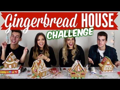 gingerbread - I've been vlogging everyday for VLOGMAS! Watch here: http://bit.ly/16Hl0TK 'LIKE' this video if you guys enjoyed it, and comment down below which gingerbread house you would want to live in!...