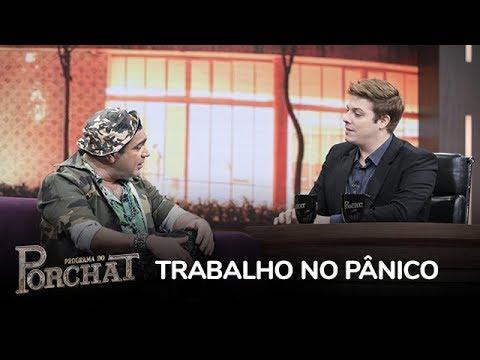 Pânico na Band - Evandro Santo revela as matérias que não gostou de fazer no Pânico