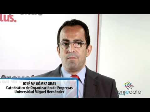 José María Gómez Gras - Entrevista Enrédate Elx-Baix Vinalopó 2012