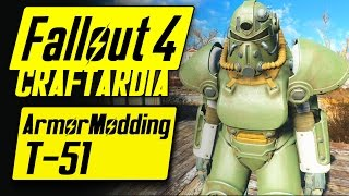 Fallout 4 Power Armor Customization - T-51 Power Armor - Fallout 4 Armor Modding [PC]