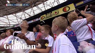 Co się może zdarzyć, kiedy zabierzesz dzieci na mecz piłki nożnej