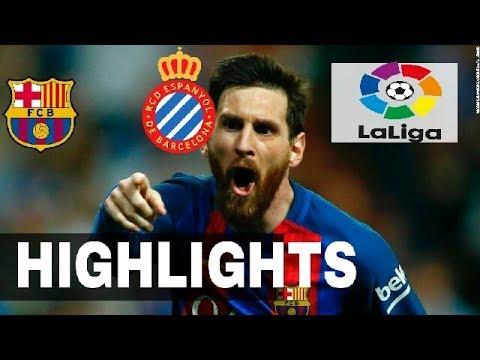 |HD| Barcelona vs Espanyol  Highlights all goals & La Liga  ◆ 10 September 2017