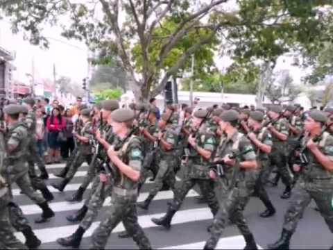 Desfile Cívico em Itu-SP 2015 .Exército Brasileiro