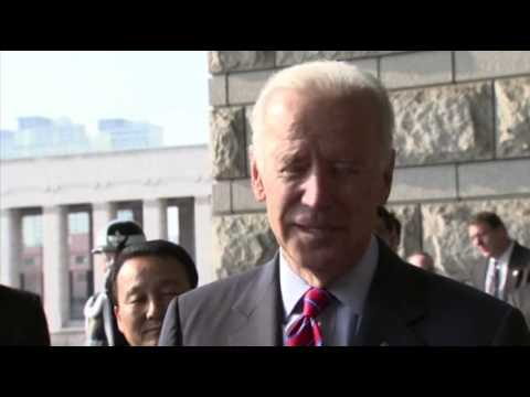 Us - US Vice President Joe Biden praised North Korea's release of an elderly US tourist on Saturday, but admonished the North for detaining him in the first place...