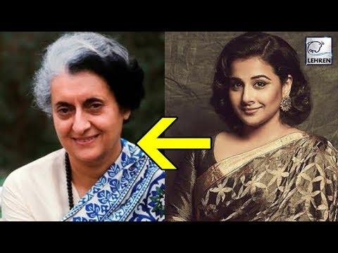 Vidya Balan To Star In Indira Gandhi's Biopic