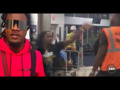 BREAKING! WATCH: Airport Employee Brawls And Decks NFL Veteran