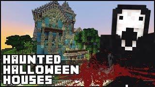 Minecraft - Haunted Halloween Houses
