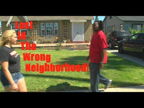 Lost In The Wrong Neighborhood! 😂COMEDY😂