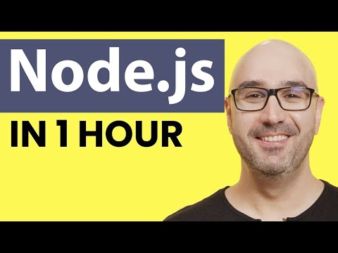 Node.js Tutorial For Beginners: Learn Node In 1 Hour
