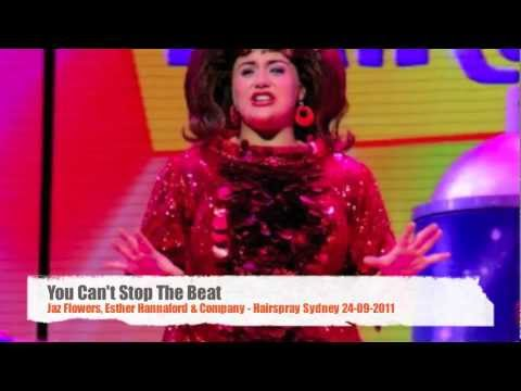 You Can't Stop The Beat - Jaz Flowers & Company Hairspray Sydney 24/09/2011