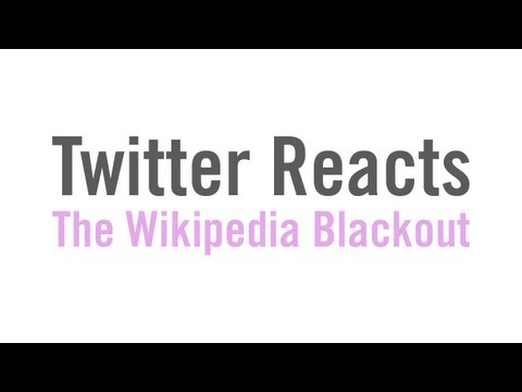 wikipedia blackout - The Twitter feed that served as the source for these quotes: https://twitter.com/#!/herpderpedia Thanks to everyone who participated! Including: BennyRhubarb...
