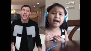 Video Jealous - Nick Jonas + Jem10144 #SINGwithLG MP3, 3GP, MP4, WEBM, AVI, FLV Mei 2019