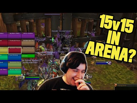 15v15 ARENA? THIS GAME MODE IS INSANE! | Absterge Highlights