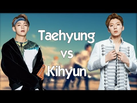 V (BTS) Vs Kihyun (Monsta X) - BATTLE 2018 🔥