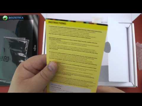 Распаковка Fujitsu Stylistic M532