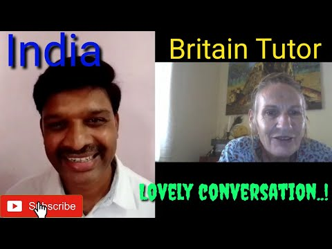 Lovely conversation on cambly with the tutor from Britain.How to talk about day today life?