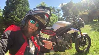 8. 20018 Triumph Street Triple R First Ride Review with Nate Jennings from Frontline Eurosports