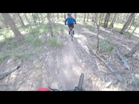 mountian bike riding @Dasiyhill forest. (видео)