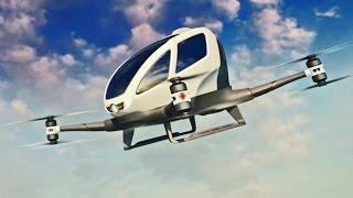 Veja o drone que leva pessoas!!!