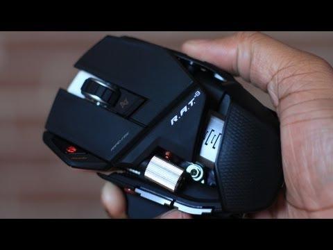 Беспроводная мышь mad catz rat 9 обладает превосходным высокоточным лазерным сенсором с поддержкой разрешения