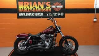 5. 2013 Harley Davidson FXDB Dyna Street Bob For Sale