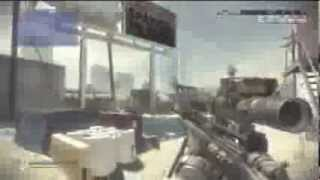 CALL OF DUTY GHOST THE BEST / SICKEST 720 NO SCOPE TRICKSHOT EVER!
