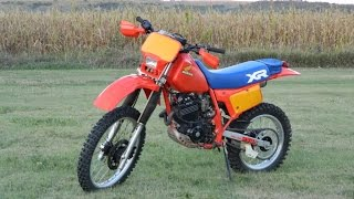 10. 1984 XR250R First Ride out of Retirement